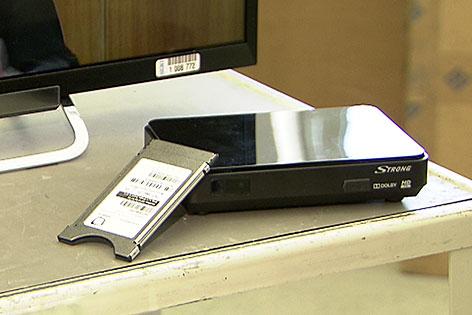Steckmodul und Set-Top-Box für simpliTV