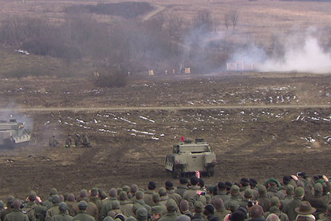 Truppenübungsplatz Allentsteig Großübung Bundesheer