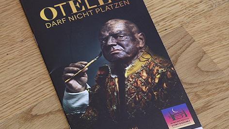 """Folder für """"Otello darf nicht platzen"""""""