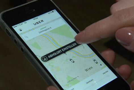 Uber arbeitet an Wiederaufnahme des Betriebs in Wien