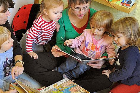 Leseförderung Für Die Jüngsten Wienorfat