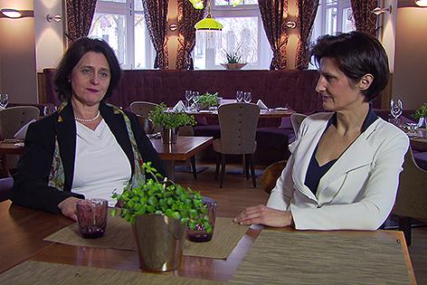 Andrea Dungl Zauner und Claudia Dungl