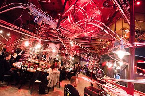 Rollercoaster-Restaurant im Wiener Prater