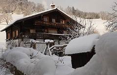 Robert Zehentner Haus Eschenau Winter
