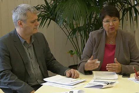 Martin Margulies und Renate Brauner
