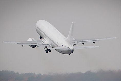 Flugzeug beim Start, Deutschland