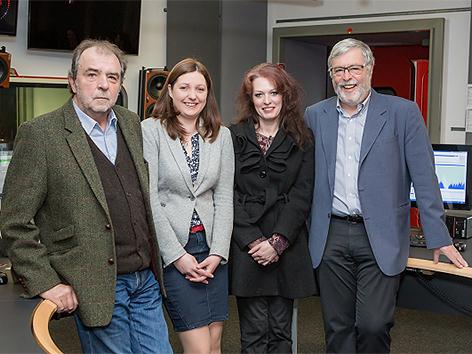 """Die vier Autoren von """"Gedanken zur Zeit"""""""