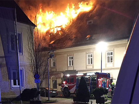 Brand in Stainz