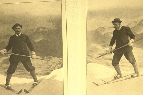 Matthias Zdarsky Erfinder Skilauf Muckenkogel