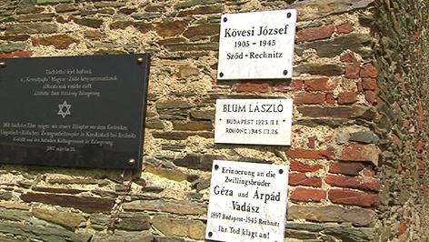 Gedenkfeier für Opfer des Südostwallbaus