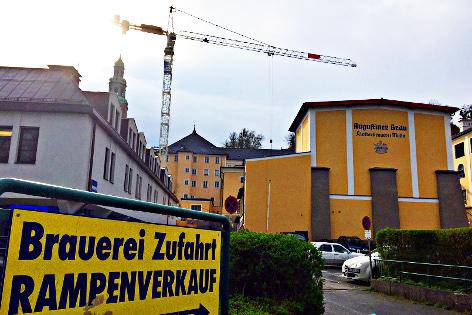 Müllner Bräu Bräustübl Mülln Müllner Bier