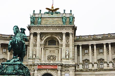 Hofburg in Wien Bundespräsident