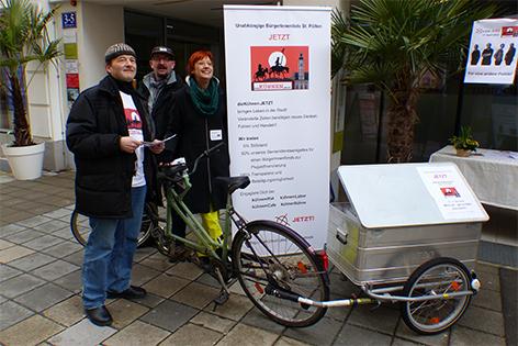 Liste jetzt im Wahlkampf zur Gemeinderatswahl in Sankt Pölten