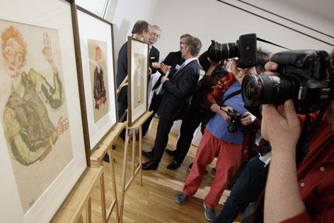 Leopold Museum Mayländer Schiele-Blätter