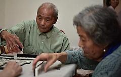 Ältere Chinesen