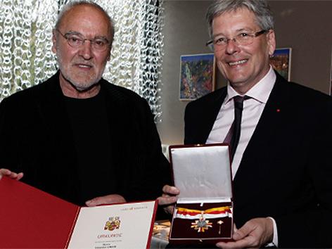 Valentin Oman Peter Kaiser Ehrenzeichen