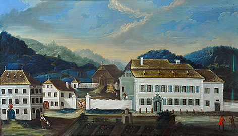 Schloss Kuenburg in Tamsweg um 1760