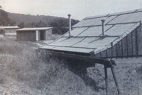 Startphase des Cobenzl-Observatoriums, 1956
