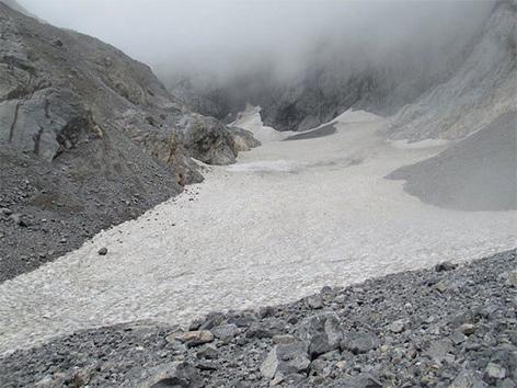 Eiskar Gletscher wächst