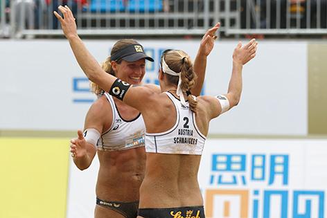 Stefanie Schwaiger und Barbara Hansel