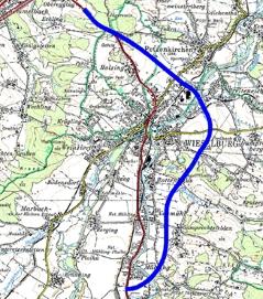Plan Umfahrung Wieselburg