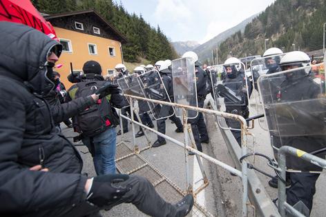 Demo am Brenner
