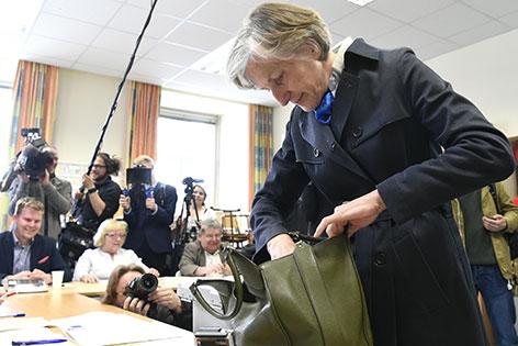 Stimmabgabe Irmgard Griss