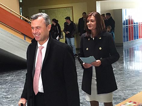 Nobert Hofer und seine Frau Verena