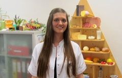 Diätologin Isabel Prugger