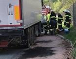 LKW Schadstoffunfall