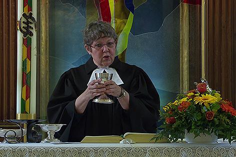 Evangelische Pfarrerin Rotraud Perner