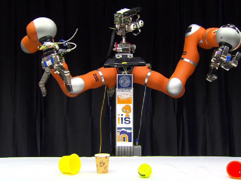 Roboter Robi Greifarme
