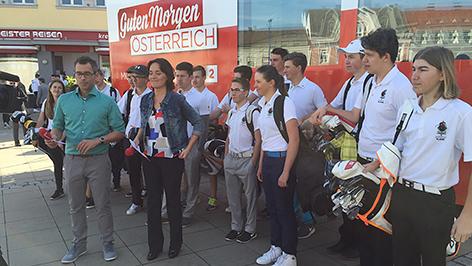 """""""Guten Morgen Österreich"""" aus Stegersbach"""