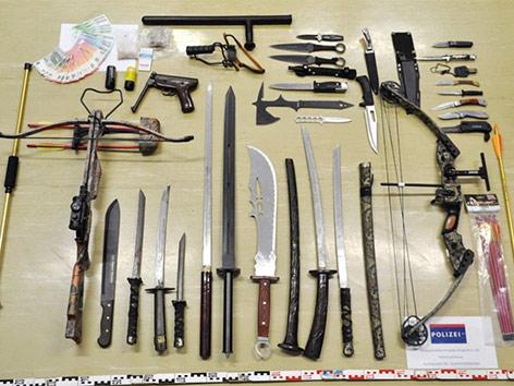 Verbotene Waffen