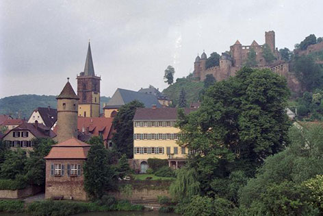 Ortsansicht von Wertheim