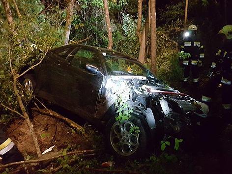 Unfall Feistritz Bach kein Führerschein