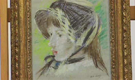 Bild von Berthe Morisot  Restitution Provenienz Provenienzforschung Susanne Rolinek Salzburg Museum