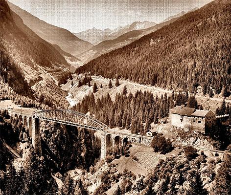 Brücke über die Trisanna bei Landeck