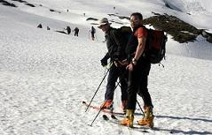 Hieronymuslauf Naturfreunde Skitour Skitouren Skibergsteigen