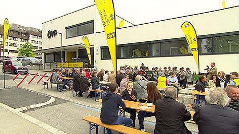 Familienfest der ÖVP in Eisenstadt zum 1. Mai