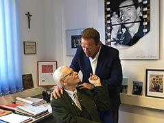 Arnold Schwarzenegger und Hermann Kröll