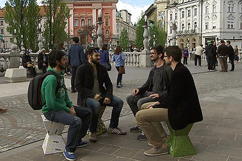 Jungunternehmer startups Treffen Laibach