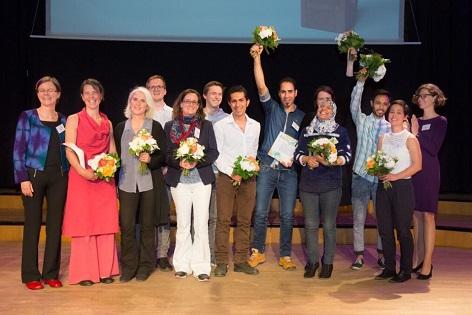 "Initiative ""Displaced Space for Change"" erhält die ""SozialMarie"" 2016, 1. Preis"