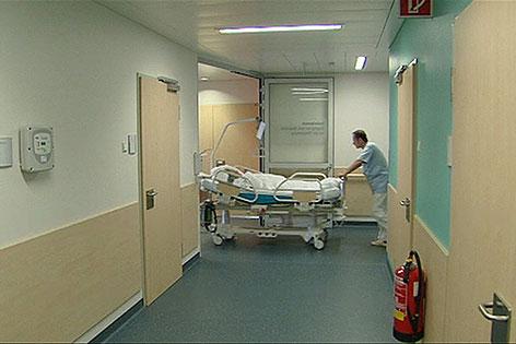 Gangbett Spital Krankenhaus