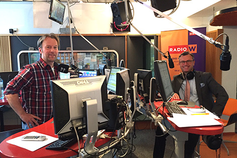 Norbert Hofer bei Radio Wien