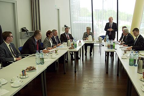 Delegation aus Moskau in Sankt Pölten bei ecoplus