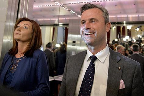 Norbert und Verena Hofer