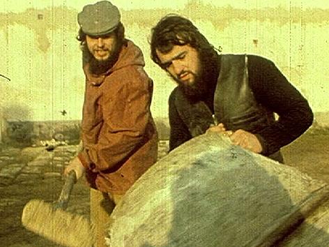 Sepp Laubner und Robert Schneider in den 1970er Jahren