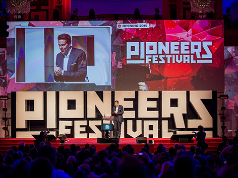 Pioneers festival Start-up