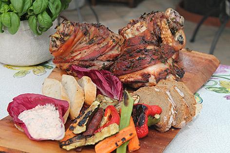 Grillrezepte Schweinestelze in drei Variationen